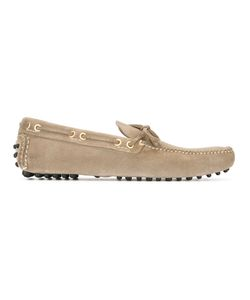 Carshoe | Car Shoe Lace-Up Loafers 7 Suede/Leather/Rubber