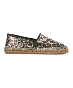 Marc Jacobs | Sienna Espadrilles 38 Polyester/Leather/Rubber