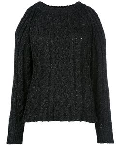 Nude | Cable Knit Cut-Out Jumper 40 Cotton/Polyamide/Polyester