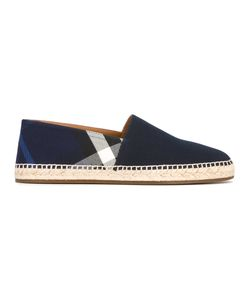 Burberry | Checked Espadrilles Size 40