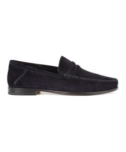 Santoni | Brock Penny Loafers 9.5 Leather/Suede