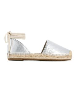 Michael Michael Kors | Hastings Espadrilles 9.5 Leather/Raffia/Rubber