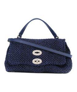 ZANELLATO | Open Weave Shoulder Bag