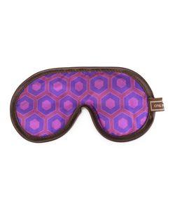 OTIS BATTERBEE | Satin Trim Eye Mask Cotton