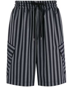 CMMN SWDN | Striped Shorts Size 50