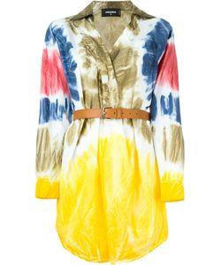 Dsquared2 | Платье-Рубашка С Принтом Тай-Дай