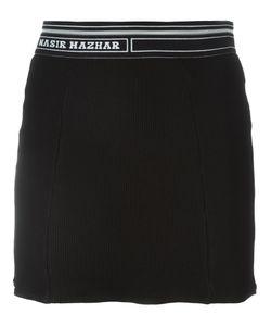 NASIR MAZHAR | Короткая Юбка В Рубчик
