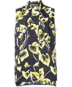 Marni | Блузка Без Рукавов С Цветочным Принтом