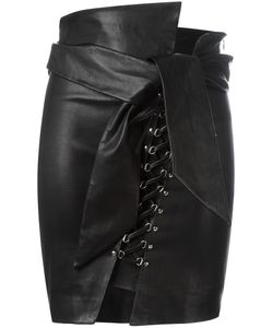 Iro | Tinah Skirt 36 Lamb Skin/Cotton/Spandex/Elastane