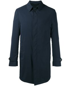 HEVO | Single Breasted Coat 52 Polyamide/Virgin Wool/Rubber/Viscose