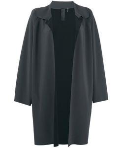 Norma Kamali   Pewter Coat M