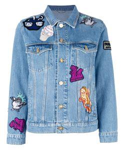 Kenzo | Badges Denim Jacket Medium Cotton