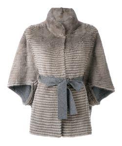Liska | Belted Fur Jacket