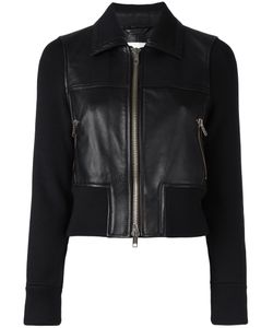 3.1 Phillip Lim | Leather Sweater-Jacket Size 8