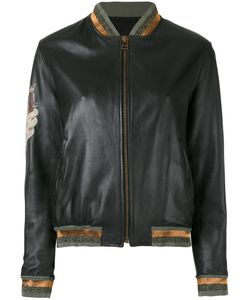 MR & MRS Italy | Contrast Panel Bomber Jacket
