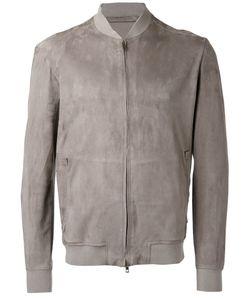 SALVATORE SANTORO | Zipped Jacket 54 Leather