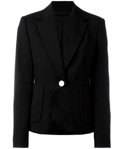 Diane Von Furstenberg   Contrast Button Blazer 4 Polyamide/Cotton/Spandex/Elastane/Polyester