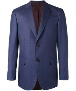 Brioni | Two Button Blazer 54 Silk/Cupro/Wool/Cotton