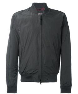 Woolrich | Zipped Bomber Jacket Medium Polyester/Polyamide/Cotton