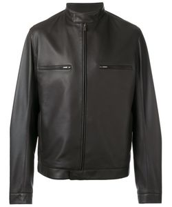 Loro Piana | Biker Jacket Large Silk/Lamb Skin/Cupro