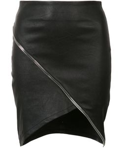 RTA | Asymmetric Zip-Detail Skirt 2