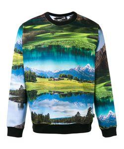 Love Moschino | Landscape Print Sweatshirt