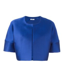 P.A.R.O.S.H. | Pica Cropped Jacket Large Silk/Polyester