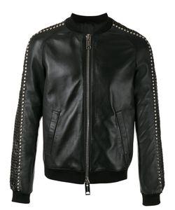 Les Hommes | Stud Detail Bomber Jacket Size 48