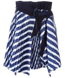 Sacai | Micro Pleated Skirt 2 Cotton/Cupro