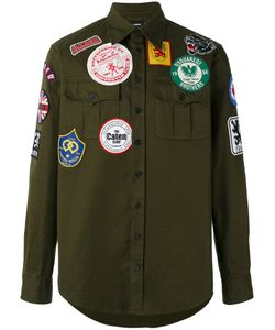 Dsquared2 | Patched Military Shirt Size 54
