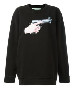OFF-WHITE | Hand Gun Sweatshirt Size Medium