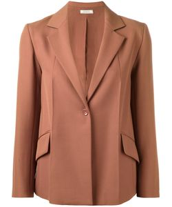 Nina Ricci   One Button Blazer 38 Silk/Wool