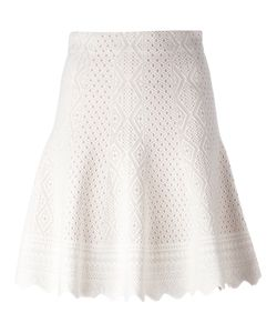 Alexander McQueen | Jacquard Knit Skirt Size Medium