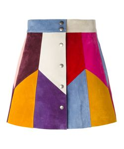 Marc Jacobs | Rainbow Panel Mini Skirt Silk/Calf