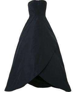 Zac Posen | Бальное Платье Без Бретелей
