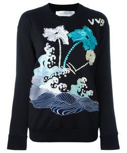 Victoria, Victoria Beckham | Victoria Victoria Beckham Printed Sweatshirt Size Large