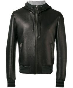 Dolce & Gabbana | Hooded Zip Jacket 48 Lamb