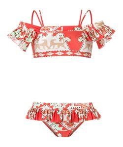 Adriana Degreas | Off Shoulder Printed Bikini Set Medium Polyamide/Spandex/Elastane