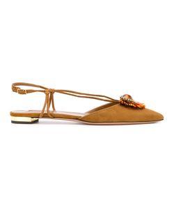 Aquazzura   Samba Ballerina Shoes Size 36.5