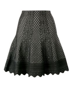 Alexander McQueen | Laser-Cut Knitted Skirt Large