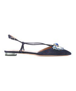 Aquazzura   Slingback Toe Detail Pumps Size 39