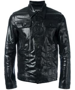 Dsquared2 | Coated Denim Jacket 48 Cotton/Spandex/Elastane