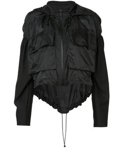 Vera Wang | Draped Windbreaker Xs/S Nylon/Cotton