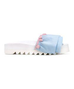 Joshua Sanders | Ruffled Sandals Size 41