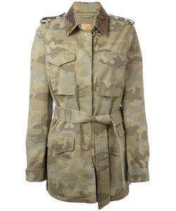 Fay | Camouflage Pattern Trenchcoat Size