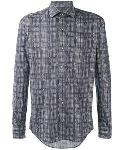 Pal Zileri | Рубашка Со Сплошным Принтом