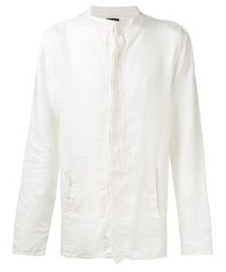 ANDREA YA'AQOV | Collarless Shirt Size Medium