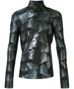 Emiliano Rinaldi | Palms Turtleneck Sweatshirt 48 Acetate/Polyamide/Spandex/Elastane