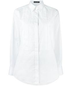 cbb7ae40655 Dolce   Gabbana - Рубашка С Кружевным Нагрудником