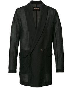 UMA WANG | Loose Fit Blazer Large Cotton/Silk